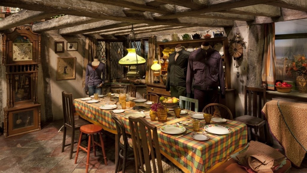 Weasley's Kitchen at The Making of Harry Potter