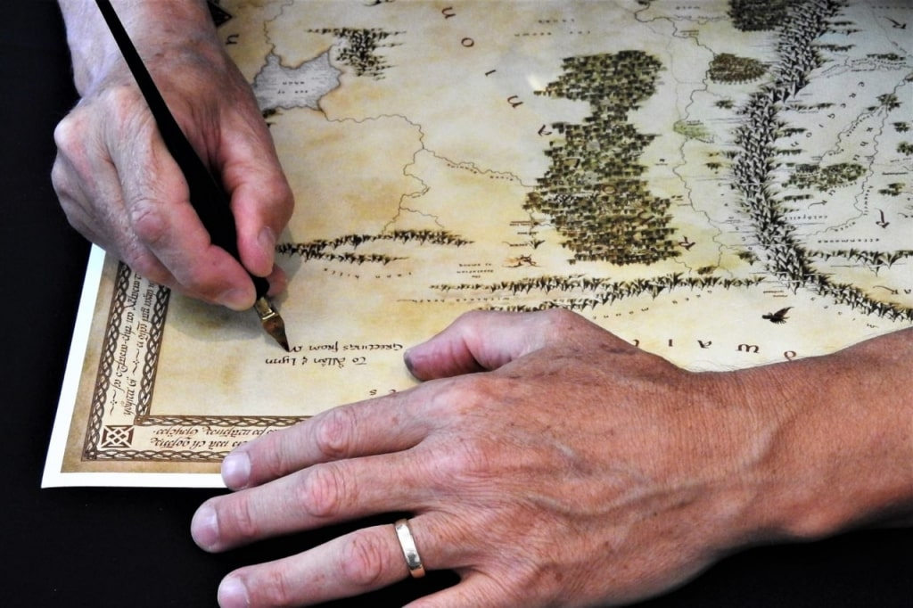 Lord of the Rings Tour: Map Maker